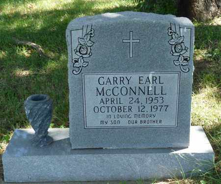 MCCONNELL, GARRY EARL - Muskogee County, Oklahoma | GARRY EARL MCCONNELL - Oklahoma Gravestone Photos