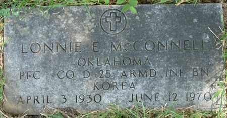 MCCONNELL (VETERAN KOREA), LONNIE E - Muskogee County, Oklahoma | LONNIE E MCCONNELL (VETERAN KOREA) - Oklahoma Gravestone Photos