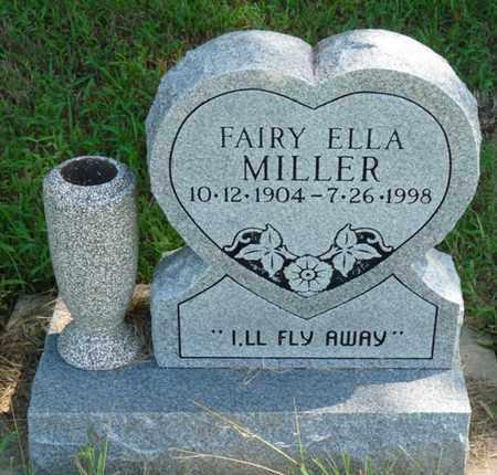 MILLER, FAIRY ELLA - Muskogee County, Oklahoma   FAIRY ELLA MILLER - Oklahoma Gravestone Photos