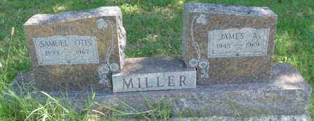 MILLER, JAMES A - Muskogee County, Oklahoma | JAMES A MILLER - Oklahoma Gravestone Photos