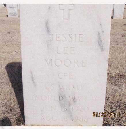MOORE, JESSIE LEE - Muskogee County, Oklahoma | JESSIE LEE MOORE - Oklahoma Gravestone Photos