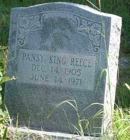 KING REECE, PANSY - Muskogee County, Oklahoma | PANSY KING REECE - Oklahoma Gravestone Photos
