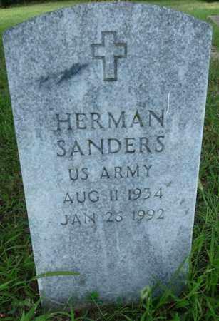 SANDERS (VETERAN), HERMAN - Muskogee County, Oklahoma   HERMAN SANDERS (VETERAN) - Oklahoma Gravestone Photos