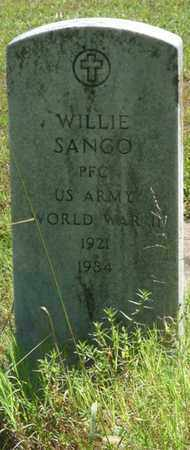 SANGO (VETERAN WWII), WILLIE - Muskogee County, Oklahoma | WILLIE SANGO (VETERAN WWII) - Oklahoma Gravestone Photos