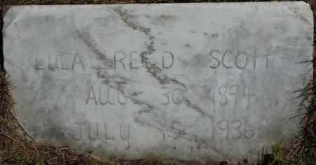 REED SCOTT, LULA - Muskogee County, Oklahoma | LULA REED SCOTT - Oklahoma Gravestone Photos