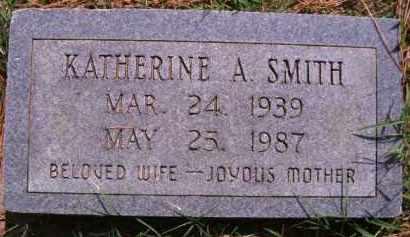 SMITH, KATHERINE A - Muskogee County, Oklahoma | KATHERINE A SMITH - Oklahoma Gravestone Photos