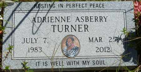 TURNER, ADRIENNE - Muskogee County, Oklahoma | ADRIENNE TURNER - Oklahoma Gravestone Photos