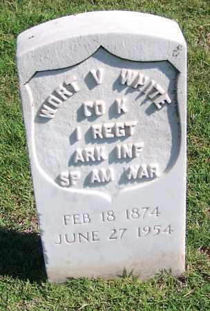 WHITE, WORT V. - Muskogee County, Oklahoma | WORT V. WHITE - Oklahoma Gravestone Photos