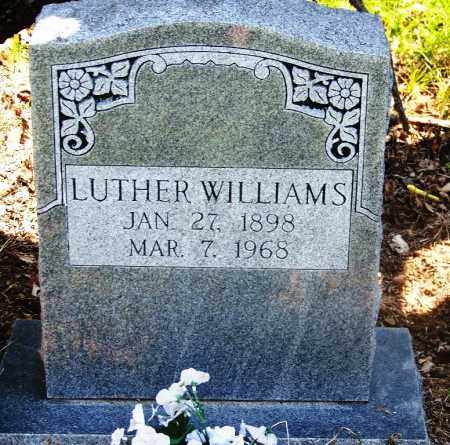 WILLIAMS, LUTHER - Muskogee County, Oklahoma | LUTHER WILLIAMS - Oklahoma Gravestone Photos