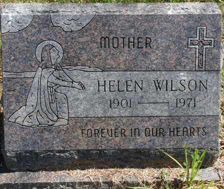 WILSON, HELEN - Muskogee County, Oklahoma   HELEN WILSON - Oklahoma Gravestone Photos