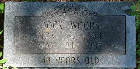 WOODS, DOCK - Muskogee County, Oklahoma   DOCK WOODS - Oklahoma Gravestone Photos