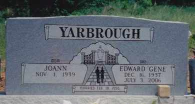 YARBROUGH, EDWARD GENE - Muskogee County, Oklahoma   EDWARD GENE YARBROUGH - Oklahoma Gravestone Photos