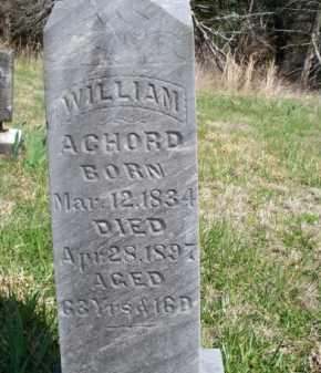 ACHORD, WILLIAM - Nowata County, Oklahoma   WILLIAM ACHORD - Oklahoma Gravestone Photos
