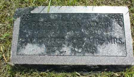 ADAIR, BOBBY JEAN - Nowata County, Oklahoma | BOBBY JEAN ADAIR - Oklahoma Gravestone Photos