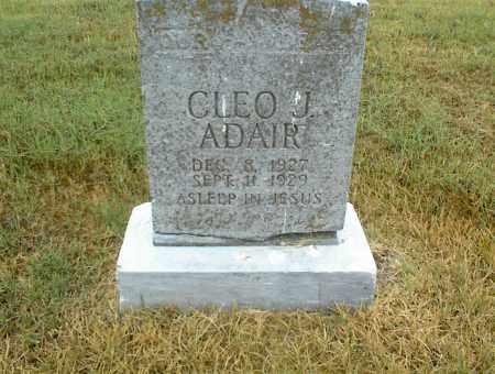 ADAIR, CLEO J. - Nowata County, Oklahoma | CLEO J. ADAIR - Oklahoma Gravestone Photos
