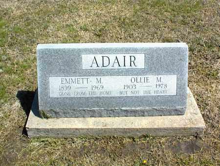 ADAIR, EMMETT M. - Nowata County, Oklahoma   EMMETT M. ADAIR - Oklahoma Gravestone Photos