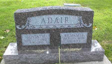 ADAIR, WILLIAM I. - Nowata County, Oklahoma   WILLIAM I. ADAIR - Oklahoma Gravestone Photos