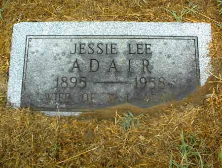 ADAIR, JESSIE LEE - Nowata County, Oklahoma | JESSIE LEE ADAIR - Oklahoma Gravestone Photos