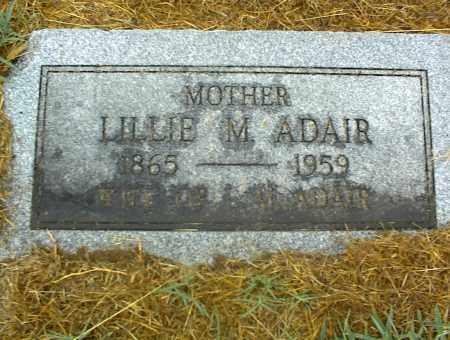ADAIR, LILLIE M. - Nowata County, Oklahoma | LILLIE M. ADAIR - Oklahoma Gravestone Photos
