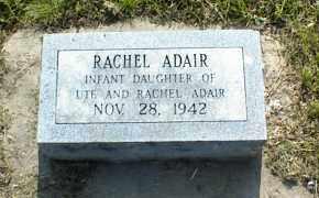 ADAIR, RACHEL - Nowata County, Oklahoma | RACHEL ADAIR - Oklahoma Gravestone Photos