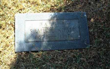 ADAIR, SAMUEL - Nowata County, Oklahoma | SAMUEL ADAIR - Oklahoma Gravestone Photos