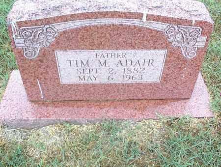 ADAIR, TIM M. - Nowata County, Oklahoma | TIM M. ADAIR - Oklahoma Gravestone Photos