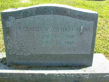 ADAMS, CHARLES W. - Nowata County, Oklahoma | CHARLES W. ADAMS - Oklahoma Gravestone Photos