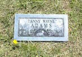 ADAMS, DANNY WAYNE - Nowata County, Oklahoma | DANNY WAYNE ADAMS - Oklahoma Gravestone Photos