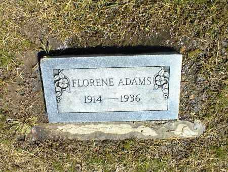 ADAMS, FLORENE - Nowata County, Oklahoma   FLORENE ADAMS - Oklahoma Gravestone Photos