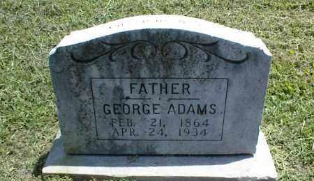 ADAMS, GEORGE - Nowata County, Oklahoma | GEORGE ADAMS - Oklahoma Gravestone Photos