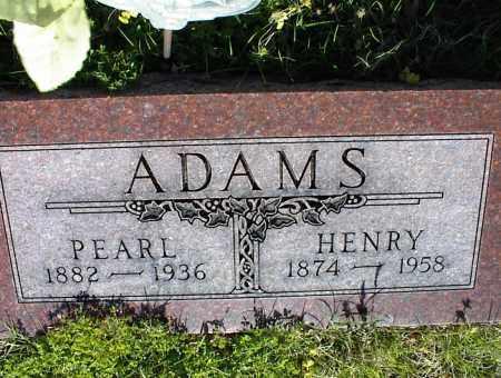 ADAMS, HENRY - Nowata County, Oklahoma | HENRY ADAMS - Oklahoma Gravestone Photos