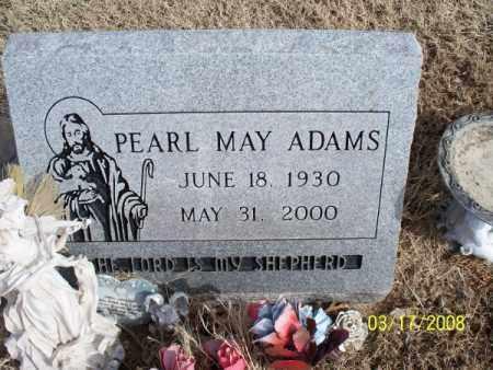 ADAMS, PEARL MAY - Nowata County, Oklahoma   PEARL MAY ADAMS - Oklahoma Gravestone Photos
