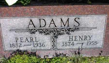 ADAMS, HENRY - Nowata County, Oklahoma   HENRY ADAMS - Oklahoma Gravestone Photos