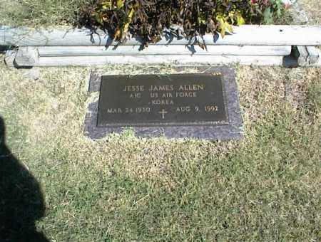 ALLEN, JESSE JAMES - Nowata County, Oklahoma | JESSE JAMES ALLEN - Oklahoma Gravestone Photos