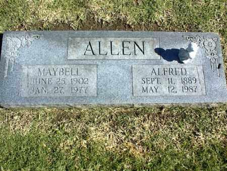 ALLEN, MAYBELL - Nowata County, Oklahoma | MAYBELL ALLEN - Oklahoma Gravestone Photos