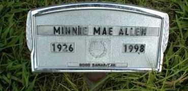 ALLEN, MINNIE MAE - Nowata County, Oklahoma | MINNIE MAE ALLEN - Oklahoma Gravestone Photos
