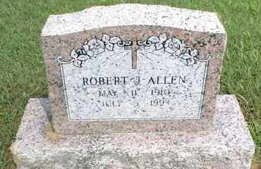 ALLEN, ROBERT J. - Nowata County, Oklahoma | ROBERT J. ALLEN - Oklahoma Gravestone Photos