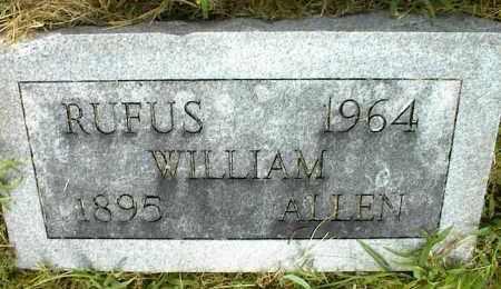 ALLEN, RUFUS WILLIAM - Nowata County, Oklahoma | RUFUS WILLIAM ALLEN - Oklahoma Gravestone Photos