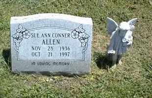 CONNER ALLEN, SUE ANN - Nowata County, Oklahoma   SUE ANN CONNER ALLEN - Oklahoma Gravestone Photos