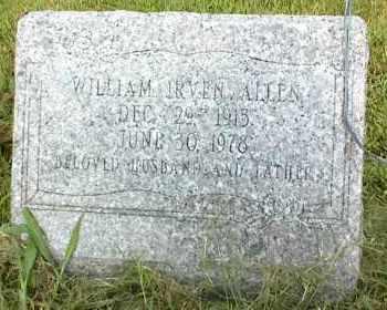 ALLEN, WILLIAM IRVEN - Nowata County, Oklahoma | WILLIAM IRVEN ALLEN - Oklahoma Gravestone Photos