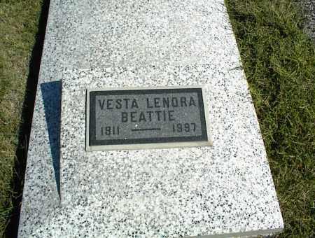 BEATTIE, VESTA LENORA - Nowata County, Oklahoma   VESTA LENORA BEATTIE - Oklahoma Gravestone Photos
