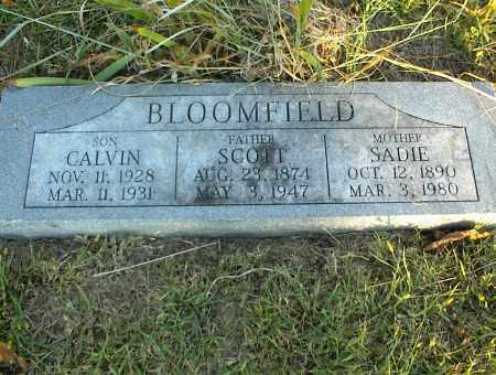 BLOOMFIELD, SCOTT - Nowata County, Oklahoma | SCOTT BLOOMFIELD - Oklahoma Gravestone Photos