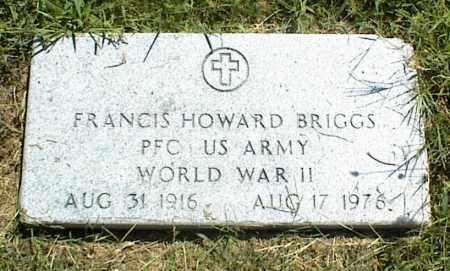 BRIGGS, FRANCIS HOWARD - Nowata County, Oklahoma   FRANCIS HOWARD BRIGGS - Oklahoma Gravestone Photos