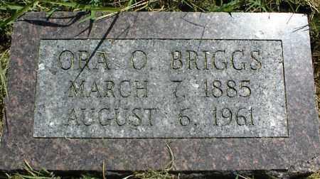 BRIGGS, ORA O. - Nowata County, Oklahoma | ORA O. BRIGGS - Oklahoma Gravestone Photos