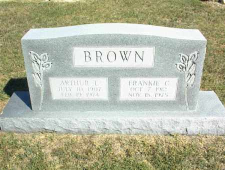 BROWN, FRANKIE C. - Nowata County, Oklahoma | FRANKIE C. BROWN - Oklahoma Gravestone Photos