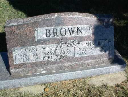 BROWN, ANN B - Nowata County, Oklahoma   ANN B BROWN - Oklahoma Gravestone Photos