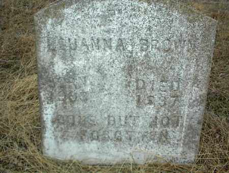 BROWN, LEUANNA - Nowata County, Oklahoma | LEUANNA BROWN - Oklahoma Gravestone Photos