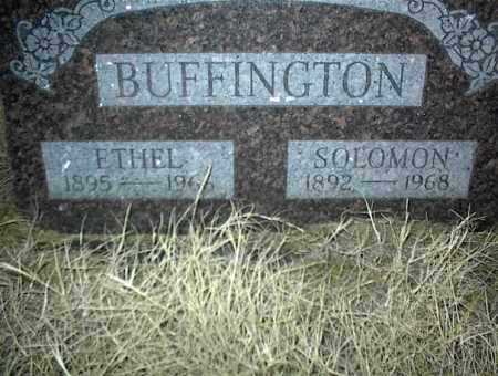 BUFFINGTON, SOLOMON - Nowata County, Oklahoma | SOLOMON BUFFINGTON - Oklahoma Gravestone Photos