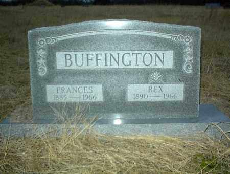 BUFFINGTON, FRANCES - Nowata County, Oklahoma | FRANCES BUFFINGTON - Oklahoma Gravestone Photos