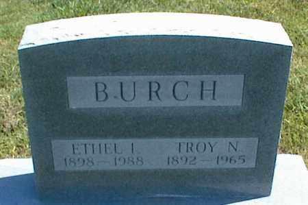 BURCH, TROY N. - Nowata County, Oklahoma | TROY N. BURCH - Oklahoma Gravestone Photos